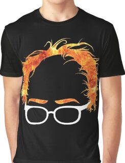 Flaming Bernie Shirt - #Feelthebern Graphic T-Shirt