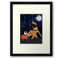 Spooky Adventure Framed Print