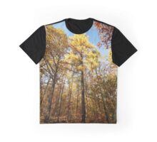 """""""Autumn in a Larches forest""""  Graphic T-Shirt"""