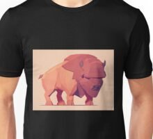 Low Poly Buffalo Unisex T-Shirt