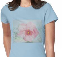 Island Flower Womens Fitted T-Shirt