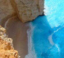 Shipwreck Beach - Greece Sticker