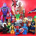 Lego Super Heroes by XxDeadmanzZ