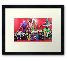 Lego Super Heroes Framed Print