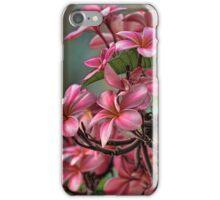 Exotic Pink Plumeria iPhone Case/Skin
