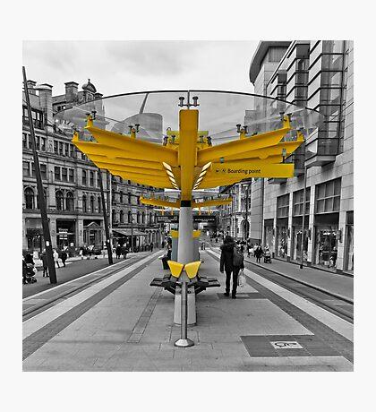 Manchester, Transport Links Photographic Print