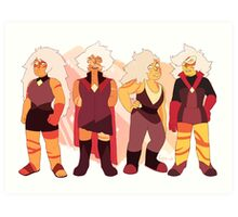 Jasper - Alternate Regenerations Art Print