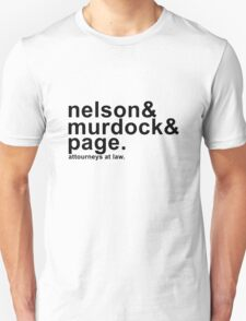 Nelson & Murdock & Page Unisex T-Shirt