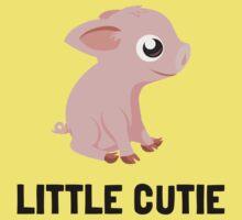Little Cutie Pig Kids Tee