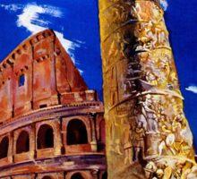 Vintage Roma Rome Italian travel Sticker