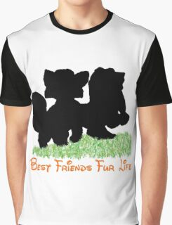 Best Friends Fur Life - Todd and Copper Graphic T-Shirt