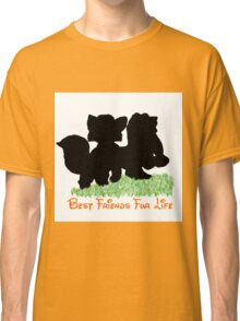 Best Friends Fur Life - Todd and Copper Classic T-Shirt