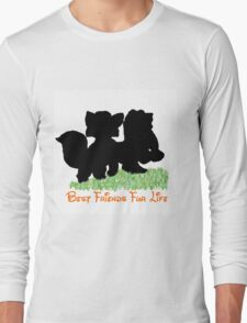 Best Friends Fur Life - Todd and Copper Long Sleeve T-Shirt