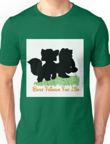 Best Friends Fur Life - Todd and Copper Unisex T-Shirt