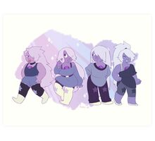 Amethyst - Alternate Regenerations Art Print