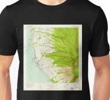USGS TOPO Map Hawaii HI Lahaina 349514 1956 24000 Unisex T-Shirt