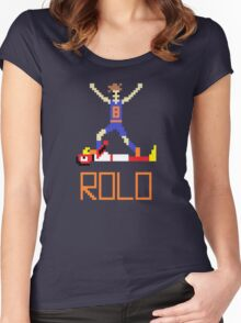 RoLo Women's Fitted Scoop T-Shirt