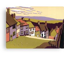 Gold Hill Canvas Print