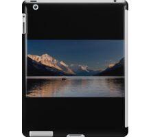 Sunset  Over Waterton Lakes National Park iPad Case/Skin