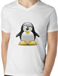 Cute Penguin  Mens V-Neck T-Shirt