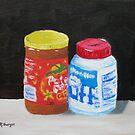 Peanut Butter and Fluff by Pamela Burger