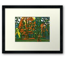 Bournemouth Gardens Framed Print