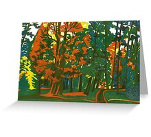 Bournemouth Gardens Greeting Card