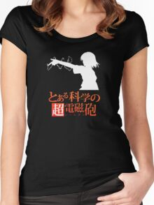 Misaka Mikoto Women's Fitted Scoop T-Shirt