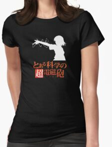Misaka Mikoto Womens Fitted T-Shirt