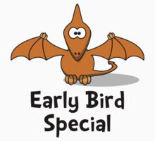 Early Bird Special Baby Tee