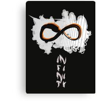 Abstract Infinity Symbol Canvas Print