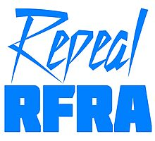 Repeal RFRA Religious Freedom Restoration Act Photographic Print