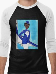 Come Fly with Me Men's Baseball ¾ T-Shirt