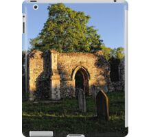 Twilight in the church Yard   Ruins iPad Case/Skin