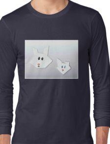 Two Cute Rabbits Long Sleeve T-Shirt