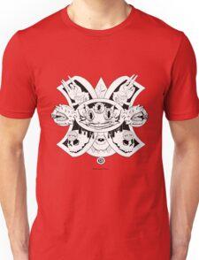 Gato Cheshire del Futuro Ollin Unisex T-Shirt