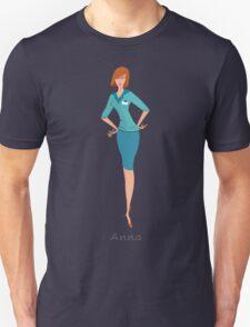 Beauty salon spa manager Anna Unisex T-Shirt