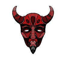 Devil Photographic Print