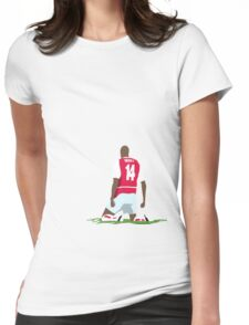 Thierry Henry at White Hart Lane Womens Fitted T-Shirt