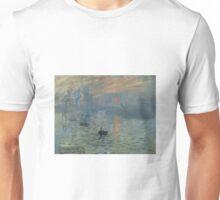 Monet - Impression, Sunrise (1872) Unisex T-Shirt