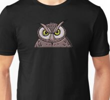 Angry Owl  Unisex T-Shirt