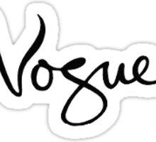 Vogue Sticker Sticker
