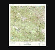 USGS TOPO Map Puerto Rico PR Adjuntas 362011 1960 20000 Unisex T-Shirt