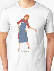 Beauty salon spa hairstylist Marta Unisex T-Shirt