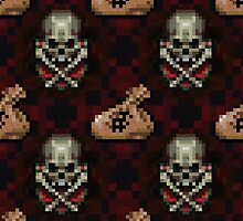 Skeleton Test Cash Pixels by likelikes