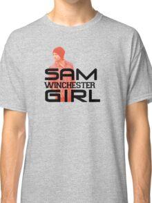 Sam Winchester Girl - Supernatural Classic T-Shirt