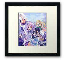First Neptunia game Framed Print