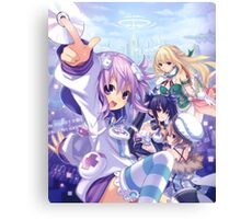 First Neptunia game Canvas Print