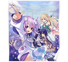 First Neptunia game Poster