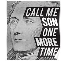 Hamilton -One More Time Poster